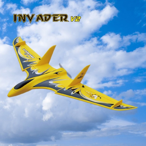 Cool mini RTF RC Flying Delta Wing à vendre Inv Ader 6104