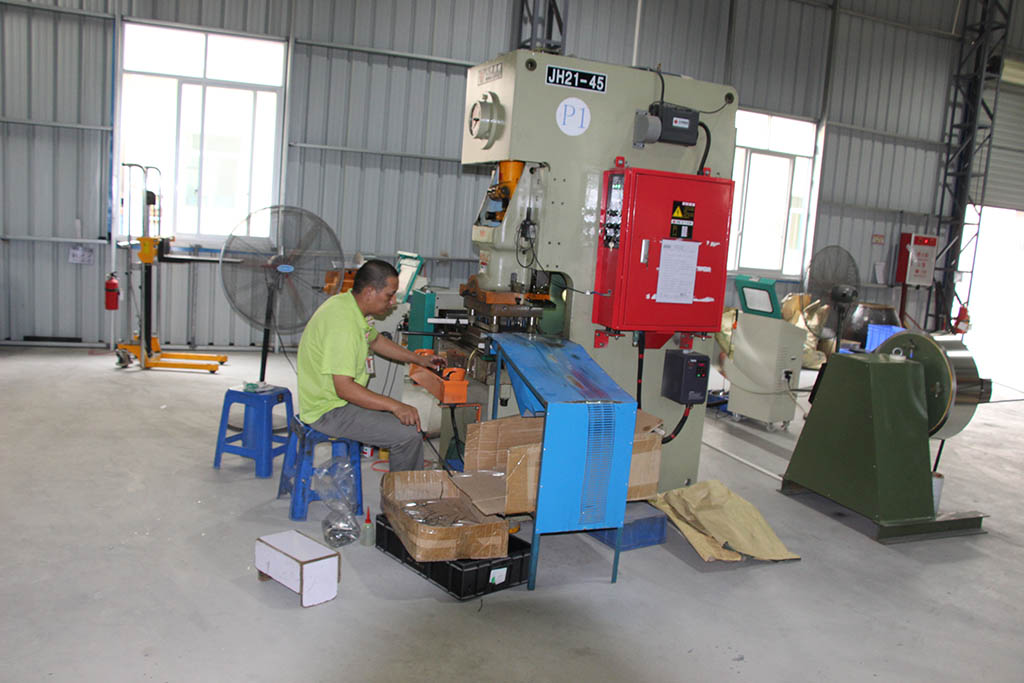 Stamping department and Stamping machines of Joysway Hobby